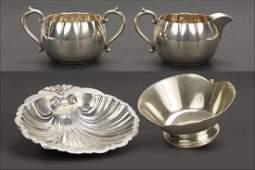 A Lebolt Sterling Silver Bowl.