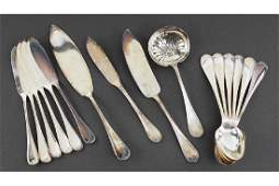 A Christofle Silverplate Partial Flatware Service.