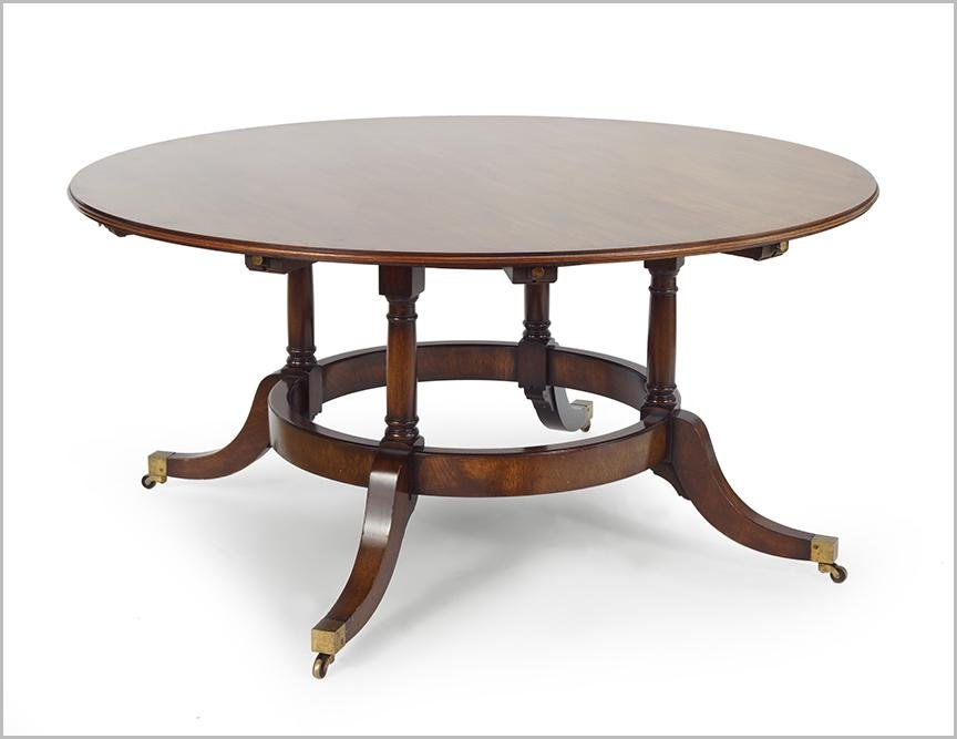 A Mahogany Dining Table.