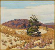 Frank V. Dudley (American, 1868-1957) November Paints