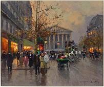 Edouard Cortes (French, 1884-1969) La Madeleine, Le