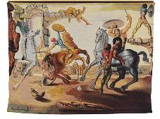 Salvador Dali (Spanish, 1904-1989) Battle Around a