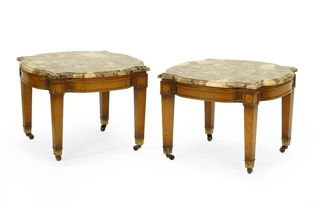 A Pair of Low Tables.