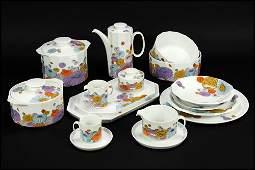 A Rosenthal Porcelain Dinner Service