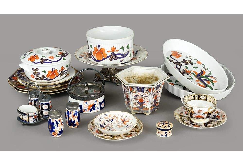 A Collection of Imari Porcelain.