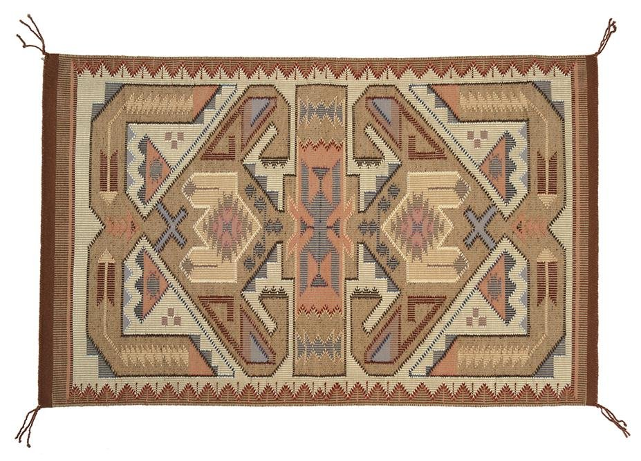 A Tees Nos Pos Navajo Weaving.