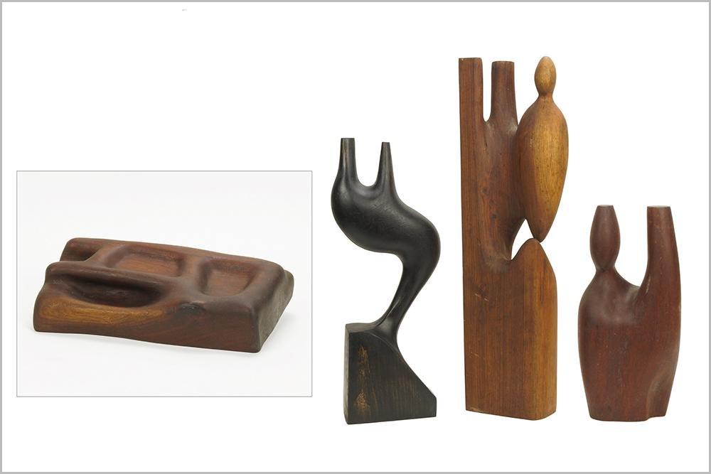 Marcus Arvin (Canadian, 20th Century) Four Sculptures.
