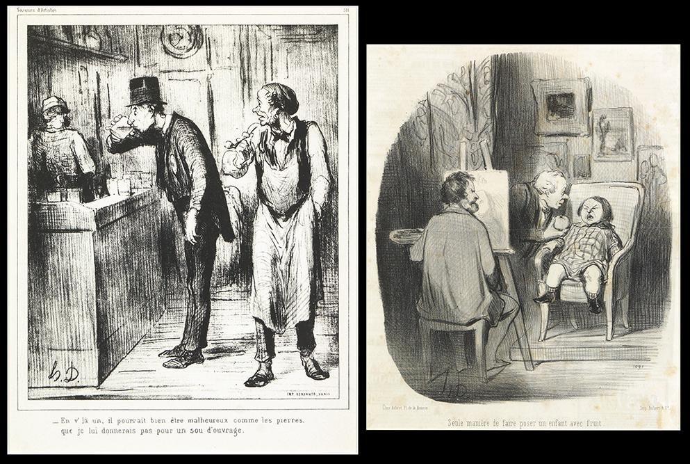 Honore Daumier (French, 1808-1879) Seule Maniere de