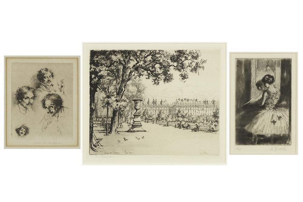 Eugene Bejot (French, 1867-1931) Le Jardin de