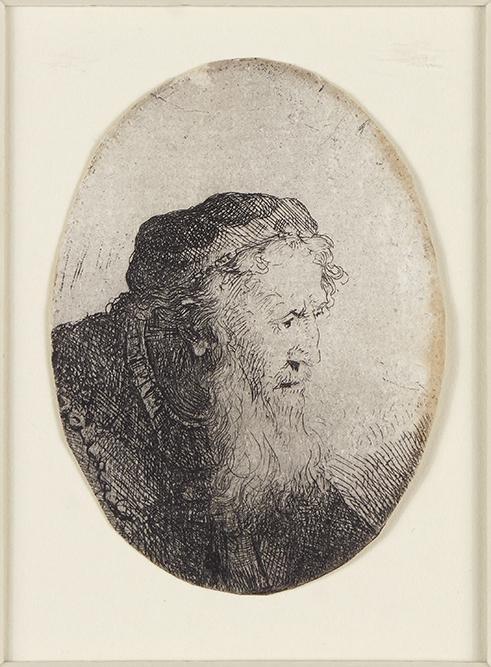 Ferdinand Bol (Dutch, 1616-1680) Bearded Old Man,