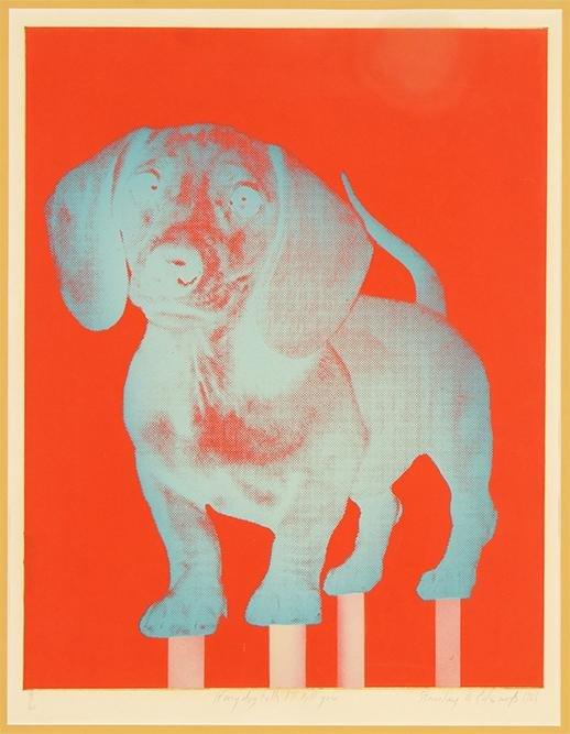 Stanley Edwards (American, B. 1941) If My Dog Falls,