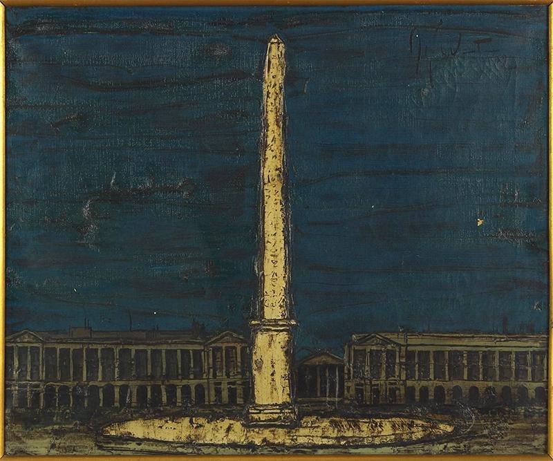 Jef Wauters (Belgian, 1927-2013) Place de la Concorde.