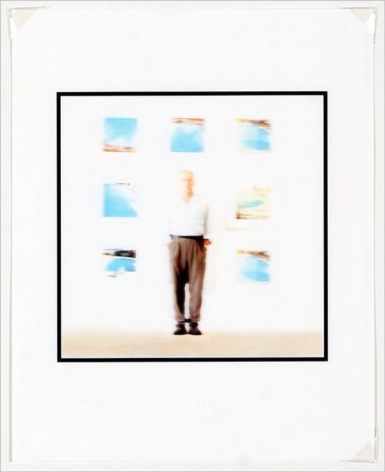 John Sanchez (American, Contemporary) Artist Standing