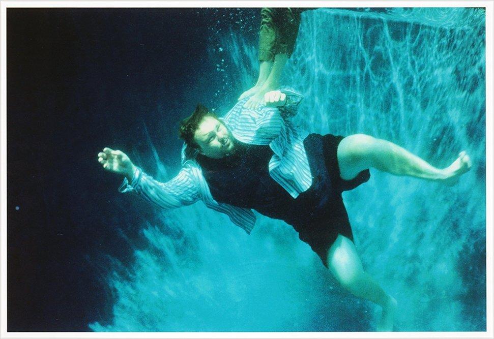 Martin Kersels (American, B. 1960) Blue Swimmer.