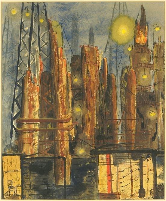 Artist Unknown (American, 20th Century) Industrial