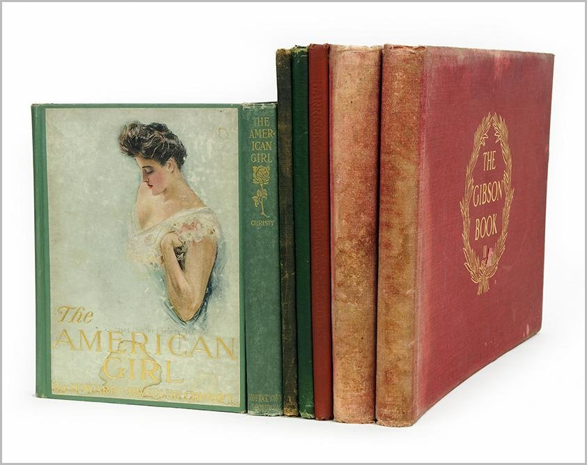 A Collection Of Art Books.