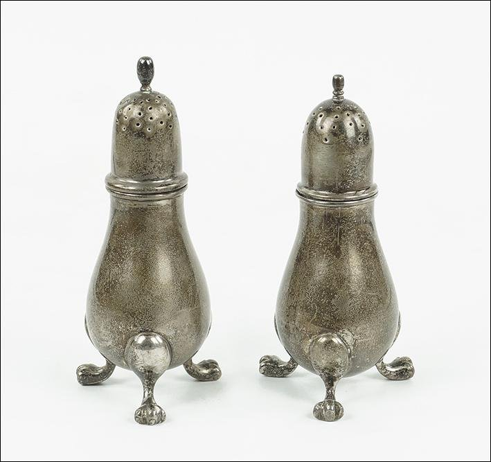 A Julius Randahl for C.D. Peacock Sterling Silver Salt