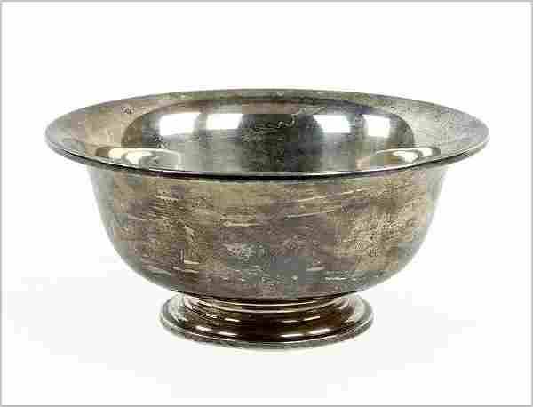 A Julius Randahl for C.D. Peacock Sterling Silver Bowl.