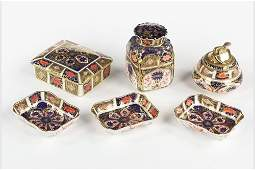 A Collection of Royal Crown Derby Old Imari Porcelain.