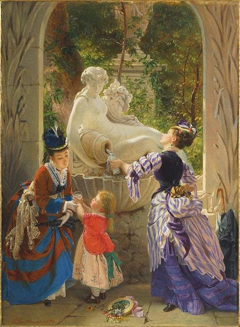 Charles Edouard Boutibonne (French, 1816-1897) At the