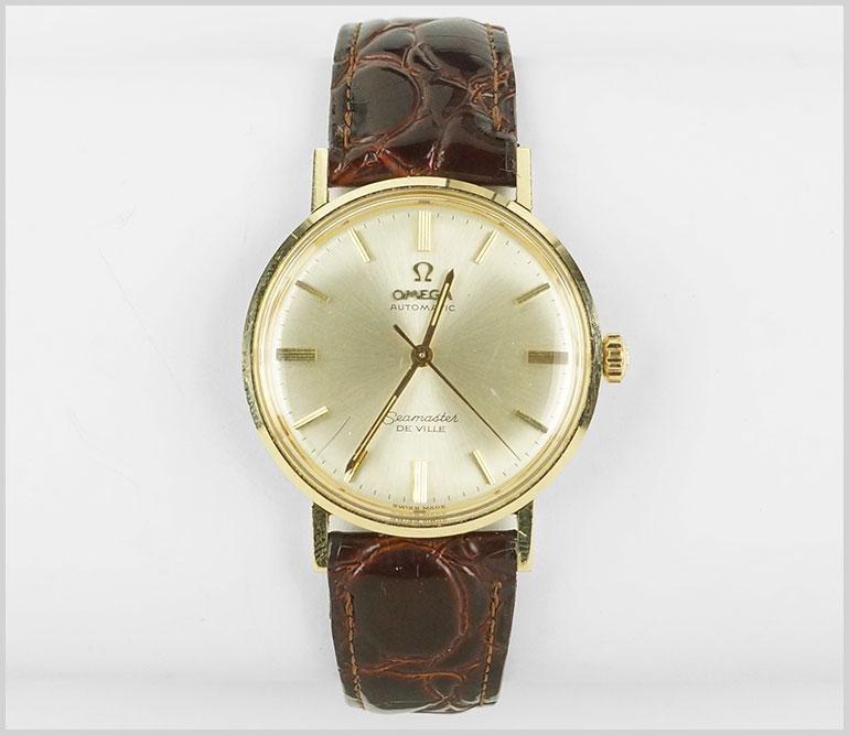 An Omega Seamaster Watch.