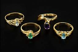 Four Gold Rings.