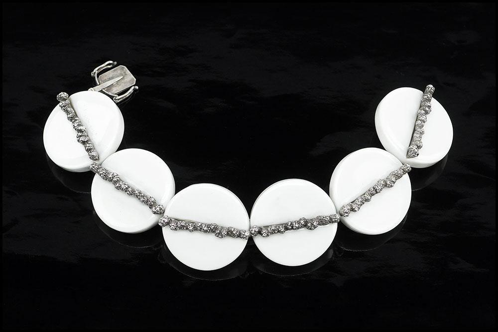 An Anton Michelsen for Royal Copenhagen Bracelet.