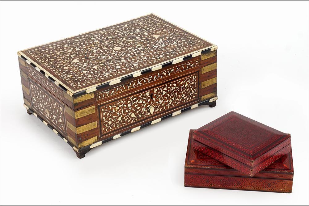 A Mixed Inlay Jewelry Box.