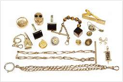 A Collection of Goldfilled and Costume Jewelry.