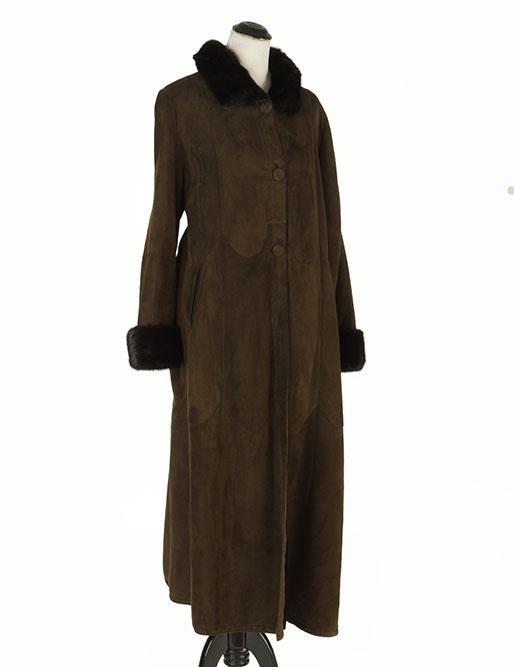 A Denimaxx Shearling Coat.