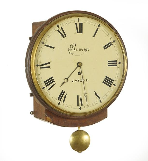 Barwise London Fusee Wall Clock.