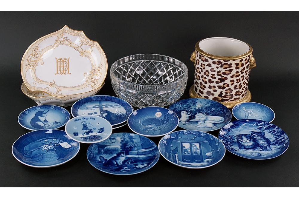 A Collection of Decorative Items.