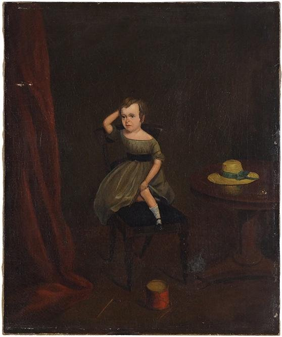Artist Unknown (American, 19th Century) Portrait of a