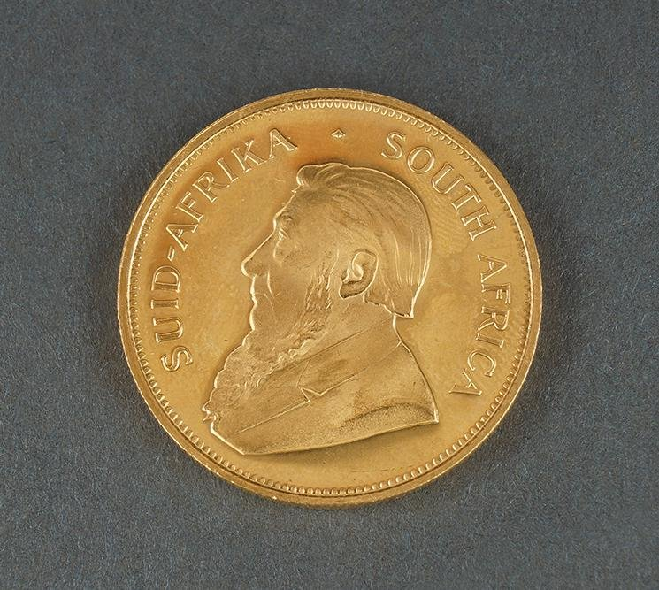 1981 SOUTH AFRICA 1 OZ GOLD KRUGERRAND.