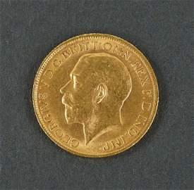 1913 Georgivs V D.C. Gold Coin.