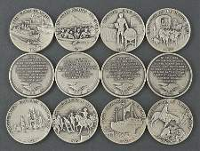 Danbury Mint Historical Commemorative Coins.