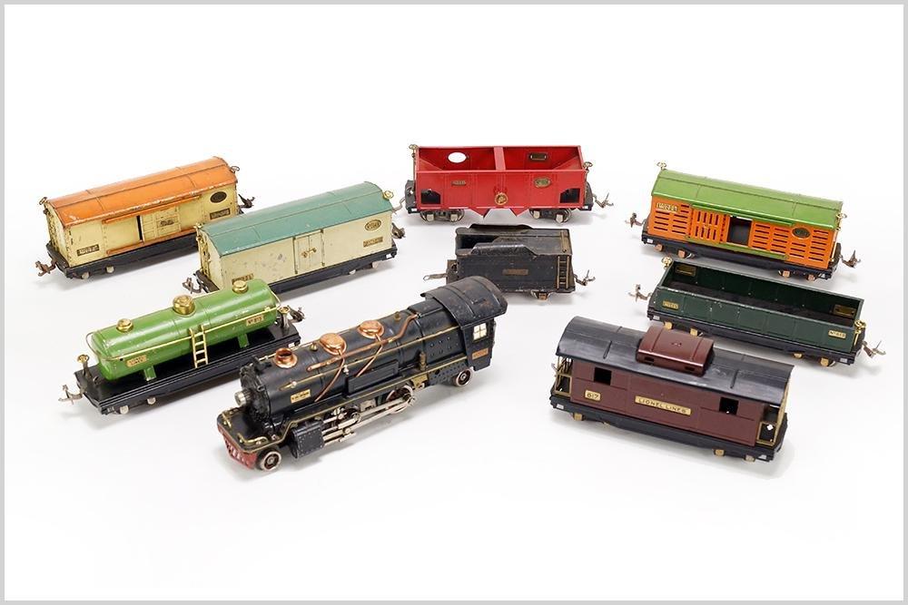 Lionel 260-E Train Engine and Set.
