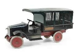 A Buddy L Express Line Truck.