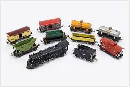 Lionel Electric Train Set.