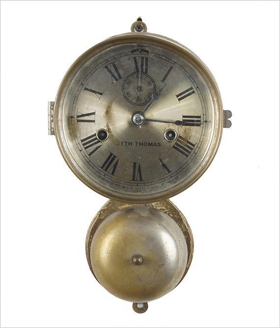 Seth Thomas Nautical Bell Clock.