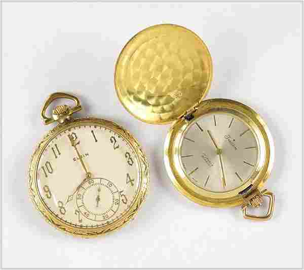 Elgin and Tradition Men's Pocket Watches.