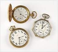 Elgin and Illinois Pocket Watches.