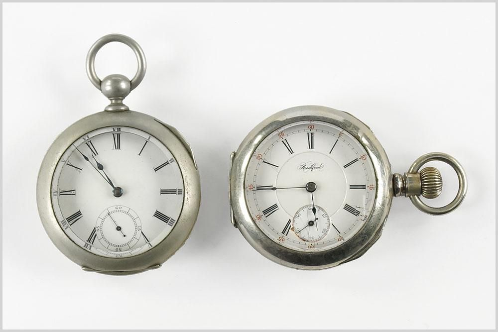 Rockford and Waltham Men's Pocket Watches.
