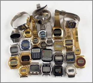 Group of Contemporary Quartz Watches.
