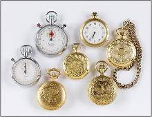 Sears and Belle Suisse Mens Pocket Watches