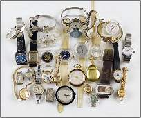 Group of Ladys Wrist Watches