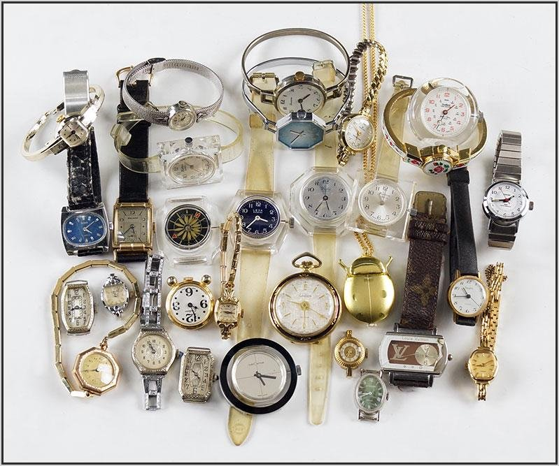 Group of Lady's Wrist Watches.