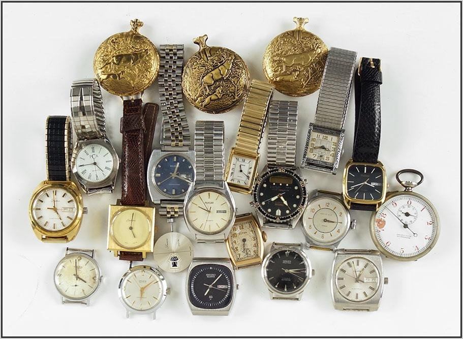 Group of Men's Watches.