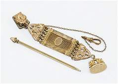 A Victorian Gold filled Watch Fob
