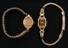 A Blancpain 14 Karat Rose Gold Watch